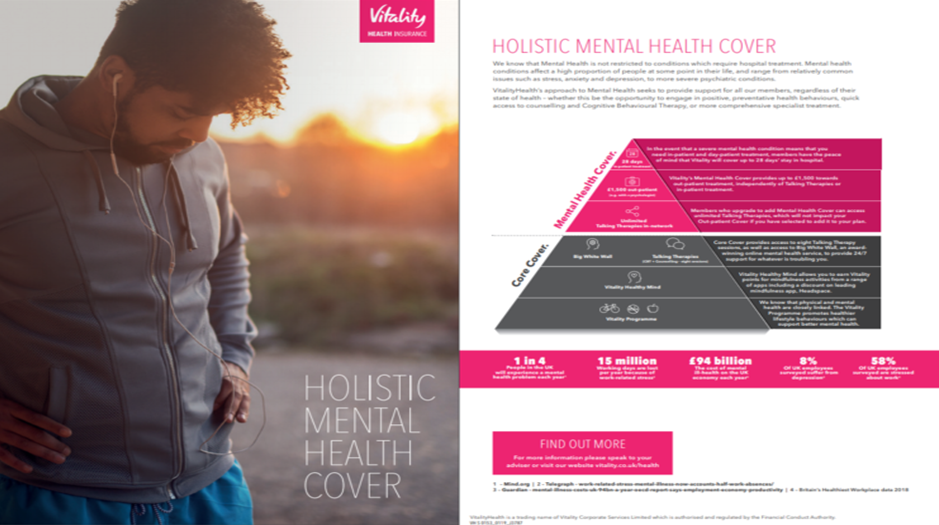 mental health sales aid cover and support