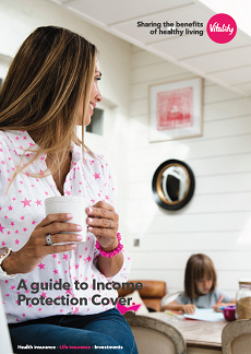 Income protection cover brochure client thumbnail